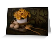 Rural Still Life Greeting Card