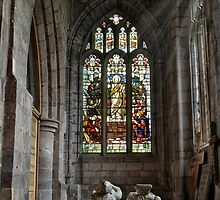 The Collegiate Church of the Holy Cross and the Mother of Him who hung thereon, Crediton, Devon  by Squealia