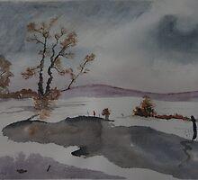 Snow Scene 2 by DrPeterDean