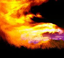 skyfire dragon... an abstract landscape by banrai