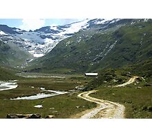 Pathway in Fextal, Switzerland  Photographic Print