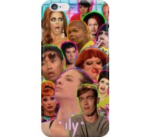 Rpdr Funny queen faces  iPhone Case/Skin