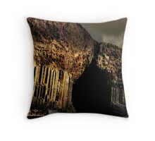 Here be Giants and Overtures Throw Pillow