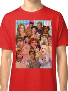 Rpdr Funny queen faces  Classic T-Shirt