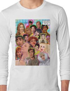 Rpdr Funny queen faces  Long Sleeve T-Shirt