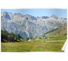 In Fextal Valley Switzerland Poster