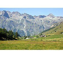 In Fextal Valley Switzerland Photographic Print