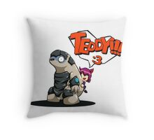 TEDDY!!! Throw Pillow
