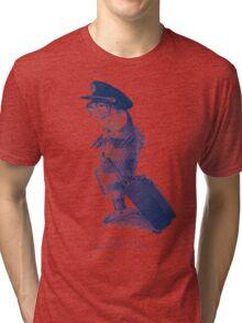The Pilot (monochrome) Tri-blend T-Shirt