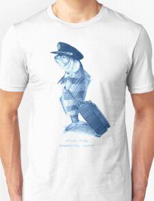 The Pilot (monochrome) Unisex T-Shirt