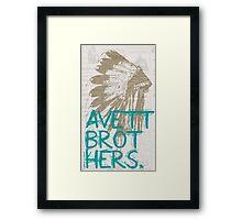 The Avett Brothers Framed Print