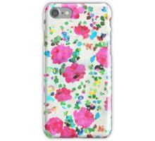 Painted Peonies iPhone Case/Skin