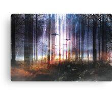 Absinthe forest Canvas Print