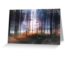Absinthe forest Greeting Card