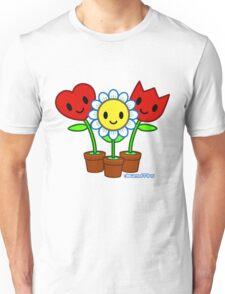 Dewmuffins Happiness Flowers Unisex T-Shirt