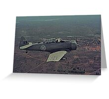 Texan T-6G             Greeting Card