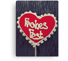Frohes Fest... Canvas Print