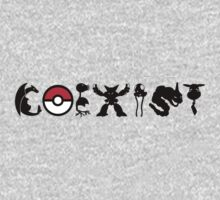 COEXIST 151 (for lighter tees 2.0) by merimeaux