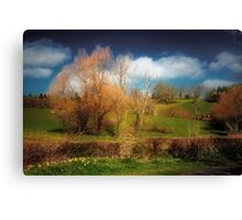 Landscape Alive Canvas Print