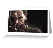Metal Gear Solid 5: Big Boss Greeting Card