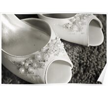 Wedding Shoes Poster