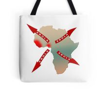 Ebola Virus Worldwide Spread From Africa Tote Bag