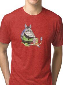 GotchStyle Totoro Tri-blend T-Shirt