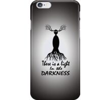 There Is a Light in the Darkness--variation. iPhone Case/Skin