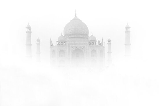 White Beauty (TAJ MAHAL) by RajeevKashyap