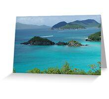 Trunk Bay, US Virgin Islands Greeting Card