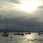Boats at Sunset by TaraShu
