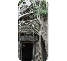 Wild Roots - Ta Prohm, Angkor, Cambodia iPhone Case/Skin