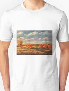 Autumn Light in the Countryside of Tennessee Unisex T-Shirt