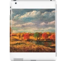 Autumn Light in the Countryside of Tennessee iPad Case/Skin