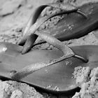 silver brazilian sandals of strips flipflops by momarch