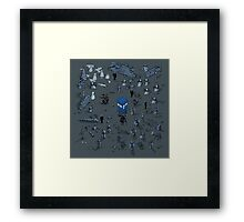 Game of Time and Space Framed Print