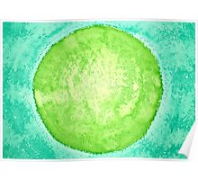 Green World original painting Poster