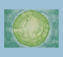 Green World original painting Kids Clothes