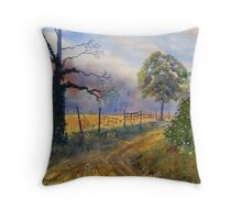 Wold Gold Throw Pillow