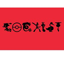 COEXIST (for lighter tees) Photographic Print