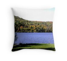 Echo Lake, west side......... Throw Pillow