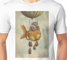 Around the World in the Goldfish Flyer Unisex T-Shirt