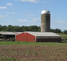 Country Farmscape by PhotogOnTheFly