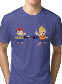 Mother - Ness and Lucas  Tri-blend T-Shirt