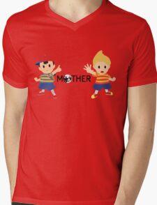 Mother - Ness and Lucas  Mens V-Neck T-Shirt