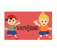 Earthbound - Ness and Lucas Art Print