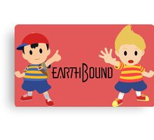 Earthbound - Ness and Lucas Canvas Print
