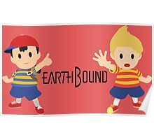 Earthbound - Ness and Lucas Poster