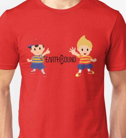 Earthbound - Ness and Lucas Unisex T-Shirt