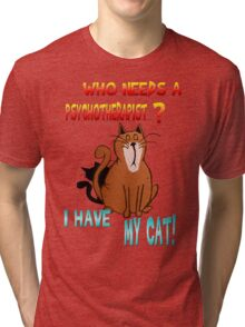 Psychotherapist Tri-blend T-Shirt